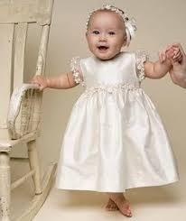 3 pc baby christening dress set ivory vintage dress lace