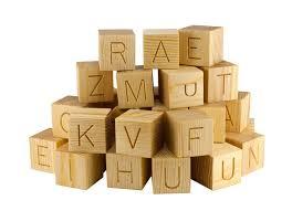 21 best wooden alphabet blocks images on alphabet