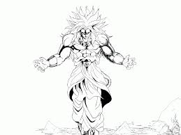 dragon ball z super saiyan 5 coloring pages coloring home
