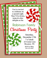 Christmas Party Invitations With Rsvp Cards - beautiful free christmas party invitations with robinson family