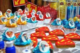 Superman Birthday Party Decoration Ideas Super 1st Birthday Superman Themed Birthday Party By Beautique