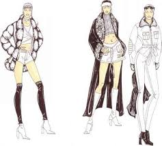 fashion design figure drawing martel fashion