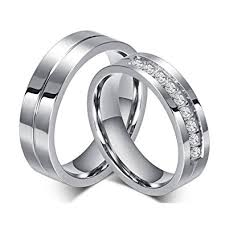 wedding bands for him rowag 6mm men titanium stainless steel promise
