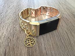 life tracker bracelet images Two toned gold rose gold metal band for fitbit charge 2 fitness