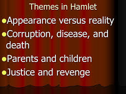 supernatural themes in hamlet introduction to hamlet themes in hamlet appearance versus reality