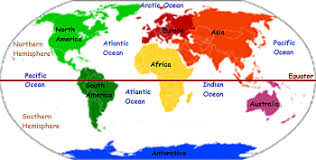 continents on map the map lesson for continents features study com
