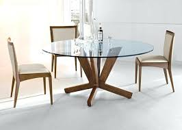Glass Top Dining Table  KIurtjohnsonco - Glass top tables for kitchen