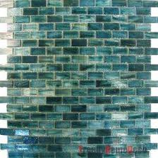 recycled glass backsplashes for kitchens 1sf blue recycle glass mosaic tile backsplash kitchen wall sink