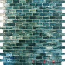 Blue Glass Tile Backsplash Sf Blue Recycle Glass Mosaic Tile - Blue backsplash tile