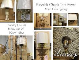 Aidan Gray Chandelier Sale Rubbish Chuck Tent Event Aidan Gray Lighting