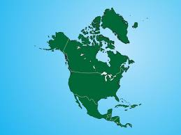 Map Of The Us And Canada by Geo Map Of Americas North America Vector Map Stock Photography