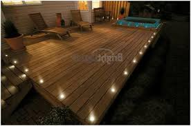 Patio Floor Lighting Patio Floor Lights A Guide On Set Of 10 Led Deck Lights Decking