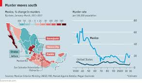 Where Is New Mexico On The Map by Why Murder In Mexico Is Rising Again