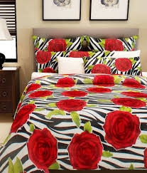 home candy double cotton stripes bed sheet buy home candy double