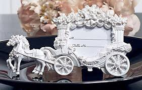horse drawn carriage place card holder 1 16 discount favors