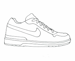 coloring page basketball pages for kids and all ages printable printable basketball shoe