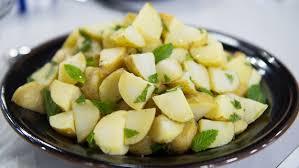 al roker s potato salad with lemon and mint today
