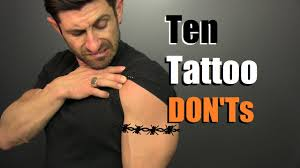 10 tattoo don u0027ts how to avoid stupid tattoos youtube