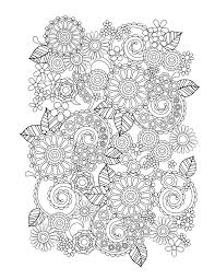 printable flower coloring pages printable coloring
