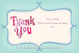 thank you card simple e thank you cards personalized note cards