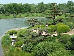 Chicago Botanic Garden Map by Chicago Botanic Garden Japanese Garden Landscape A Photo On