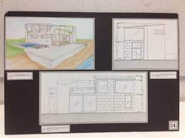 Floor Plan With Elevation And Perspective by Perspectives Course Golden Linings Design