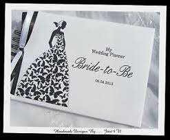 wedding planner journal personalised wedding planner scrapbook to be journal note