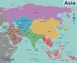 East China Sea Map Karte Asien Politische Karte Weltkarte Com Karten Und