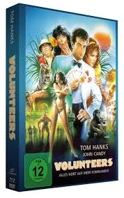 Volunteers Limited Edition Mediabook  DVD Filmjuwelen Bluray
