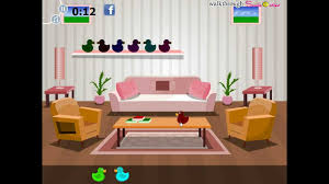 livingroom cartoon simple living room escape walkthrough youtube