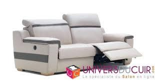 canapé cuir relax électrique canape canape cuir relax 3 places salon de relaxation manuel 100 2