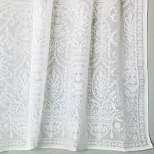 White Cotton Curtains Cotton Lace Curtains Victorian Era Bradbury U0026 Bradbury