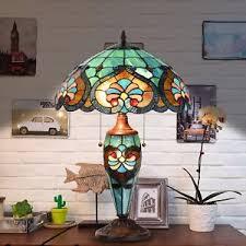 Antique Double Desk Lamp Victorian Table Lamp Ebay