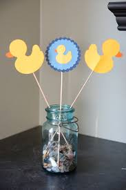 duck baby shower decorations rubber duck centerpieces duck baby shower duck birthday