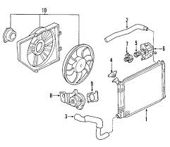 2000 ford focus cooling system diagram parts com ford thermo asy wtr partnumber 1s7z8575ag