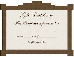 gift certificate template free word customizable form templates gift certificate template word blank