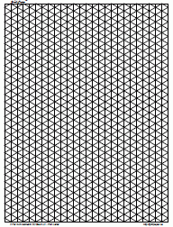 printable isometric paper a4 drawings graph paper 4 inch black full page port a4