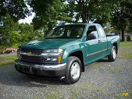chevy colorado green 2007 woodland green chevrolet colorado lt extended cab 17834780