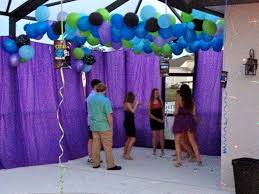 dance floor decorations for a