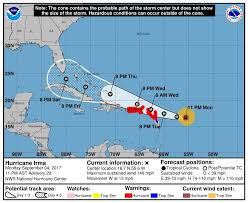 Alabama travel trends images Hurricane irma 2017 forecast track shifts to the west for now jpg