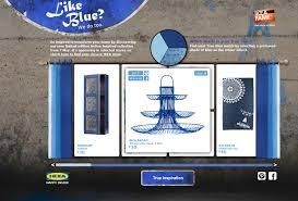 ikea is testing pinterest to promote its new u0027true blue