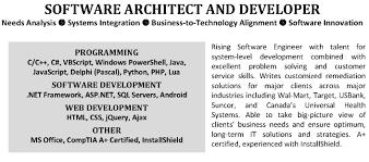 Php Developer Resume C Developer Resume Resume For Your Job Application