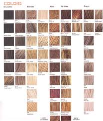 Satin Hair Color Chart Blonde Hair Colors Chart New Hair Style Collections