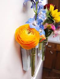Test Tube Flower Vases Diy Magnetic Test Tube Vase Busy Being Jennifer
