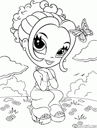coloring page the on roller skates