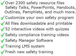written safety programs safetyinfo