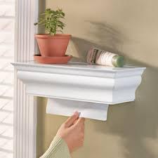 Hidden Paper Towel Dispenser Shelf Solutions Home Pinterest - Paper towel dispenser for home bathroom