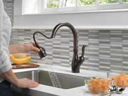 leland delta kitchen faucet faucet com 9178t ar dst in arctic stainless by delta