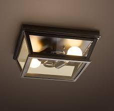 Restoration Hardware Flush Mount Ceiling Light Flushmounts Rh