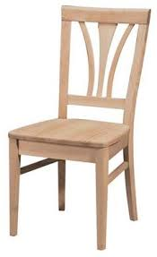 Unfinished Wood Dining Room Chairs Madrid Dining Chair Madrid Tables And Kitchen Tables